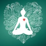 osoba medytuje